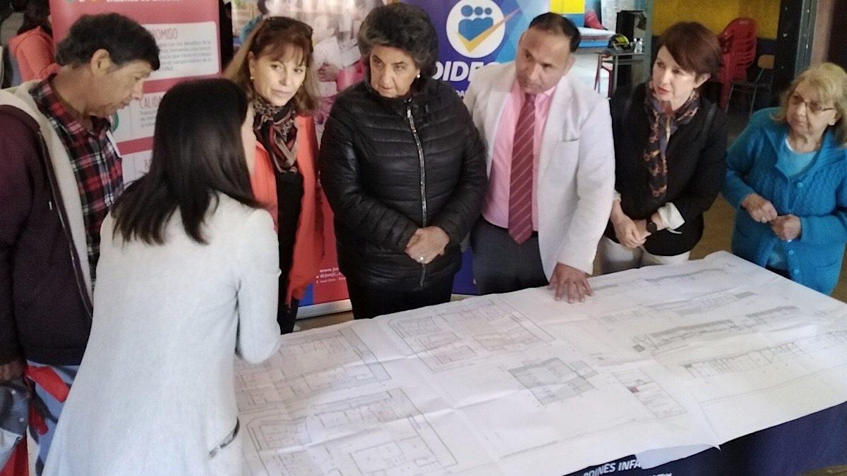 Anuncian reinicio de obras de jardín infantil en sector de Santa Julia en Viña del Mar