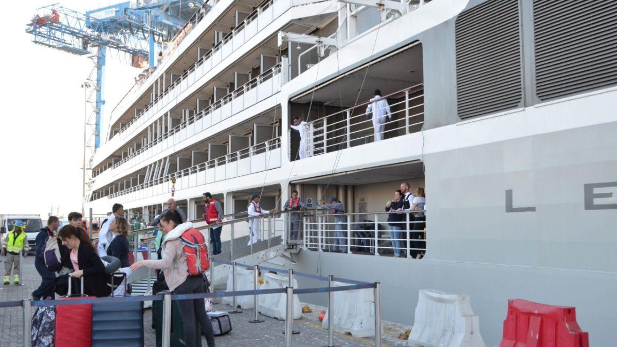 Valparaíso recibe al primer crucero de la Temporada 2019-2020