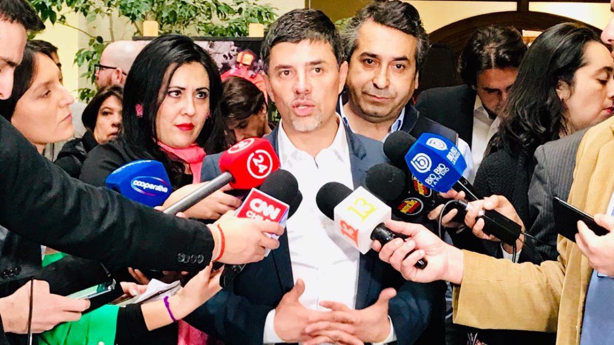 """Diputado Marcelo Díaz: """"Hoy más que nunca el Gobierno debe presentar una ley que fomente el desarrollo de Valparaíso"""""""