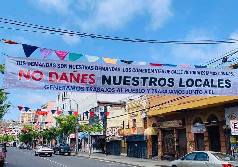 Alcaldía Ciudadana apoyará con asesoría legal y económica a comercio afectado de Valparaíso