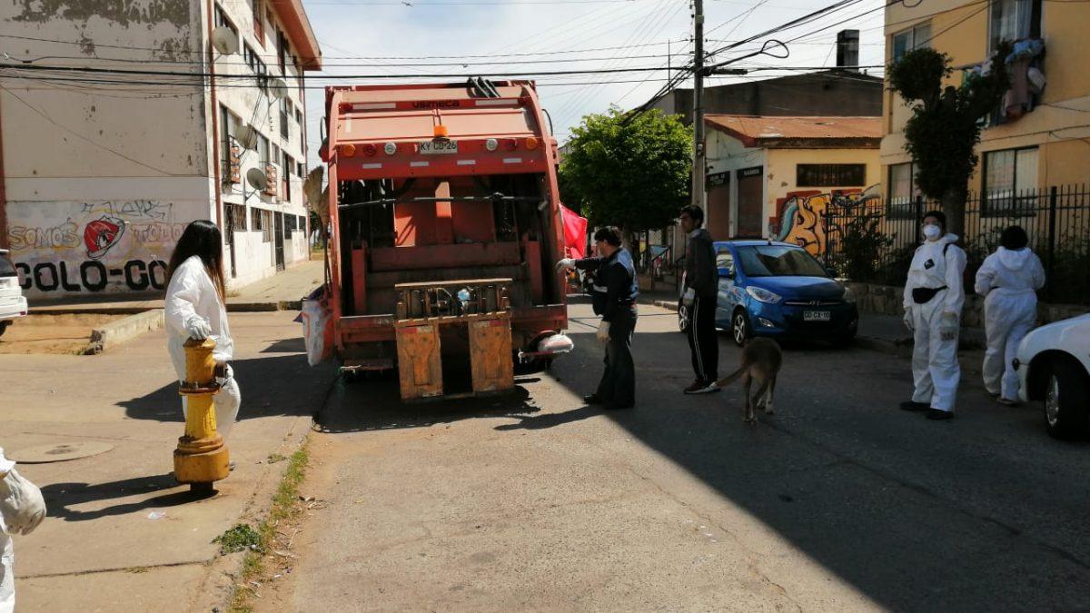 Municipio retoma recolección domiciliaria en los cerros de Valparaíso