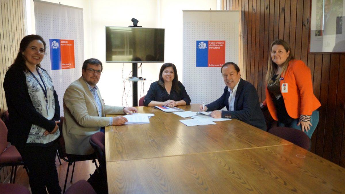Establecimientos de la Región de Valparaíso reciben fondos de Proyectos de Innovación en Educación Parvularia