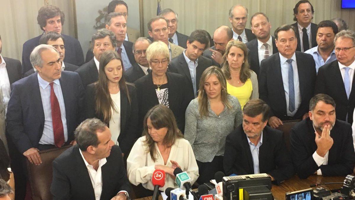 Senador Chahuán exige aprobar con urgencia apoyo de militares para salvaguardar el Estado de Derecho en Chile