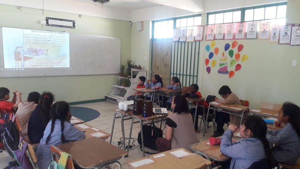Corporación Municipal de Quilpué brinda primeros auxilios psicológicos y jornadas reflexivas para estudiantes frente a crisis social.