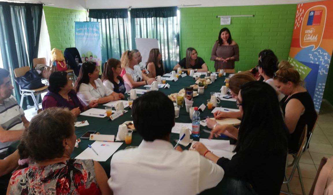 Autoridades participan en diálogos ciudadanos en Villa Alemana.