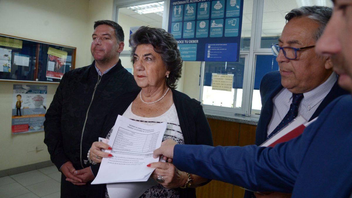 Alcaldesa Virginia Reginato presenta querella por vandalismo y millonarios daños registrados en Viña del Mar.