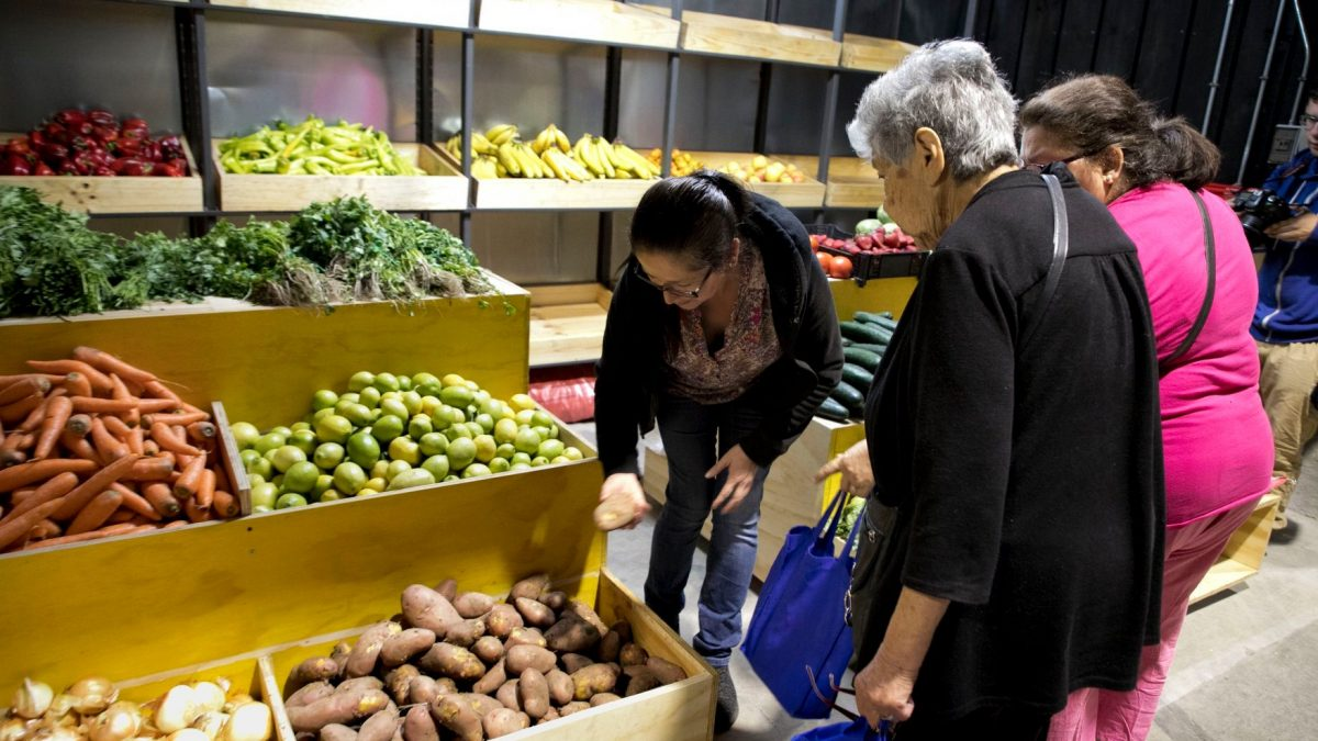 Mercado  Puerto inicia marcha blanca con la apertura de su primer piso
