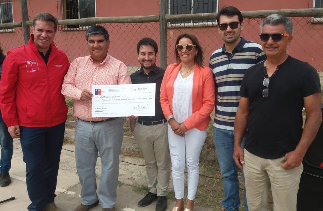 Agrupación de Puchuncaví obtuvo el cheque más grande del Fondo Presidente de la República en la Provincia de Valparaíso
