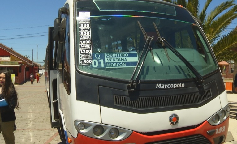 Transporte público de Quintero y Puchuncaví se renueva con importante rebaja tarifaria
