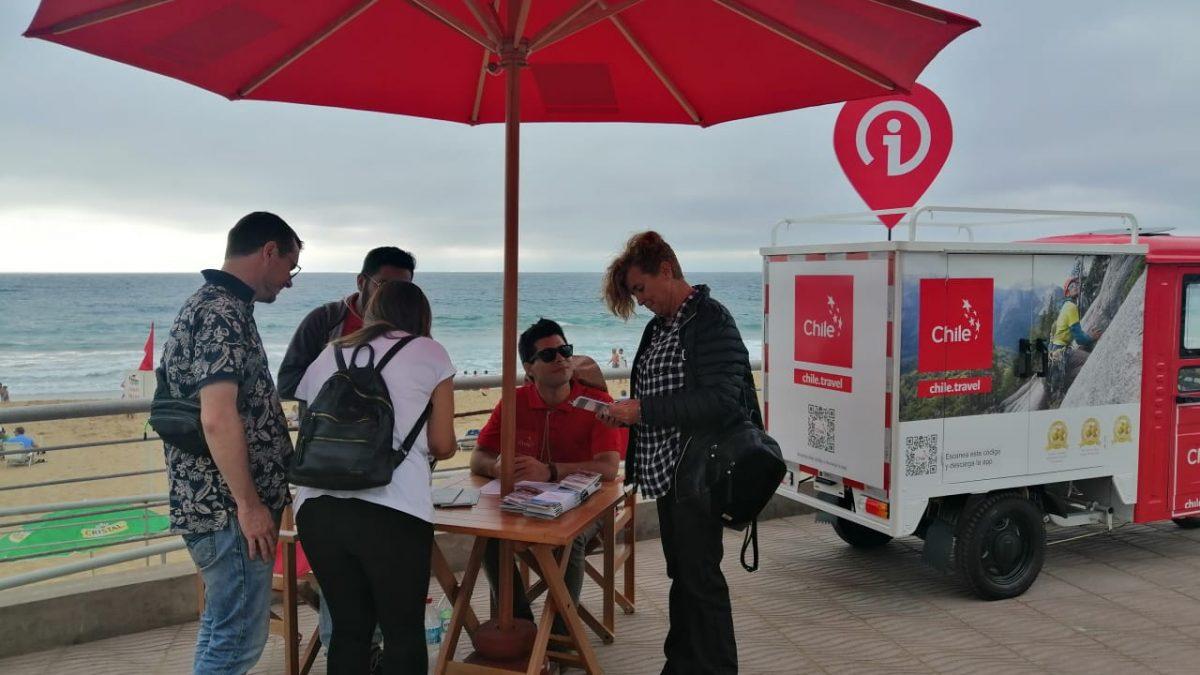 Por primera vez Sernatur estará en las principales playas de la región para entregar información turística a los veraneantes