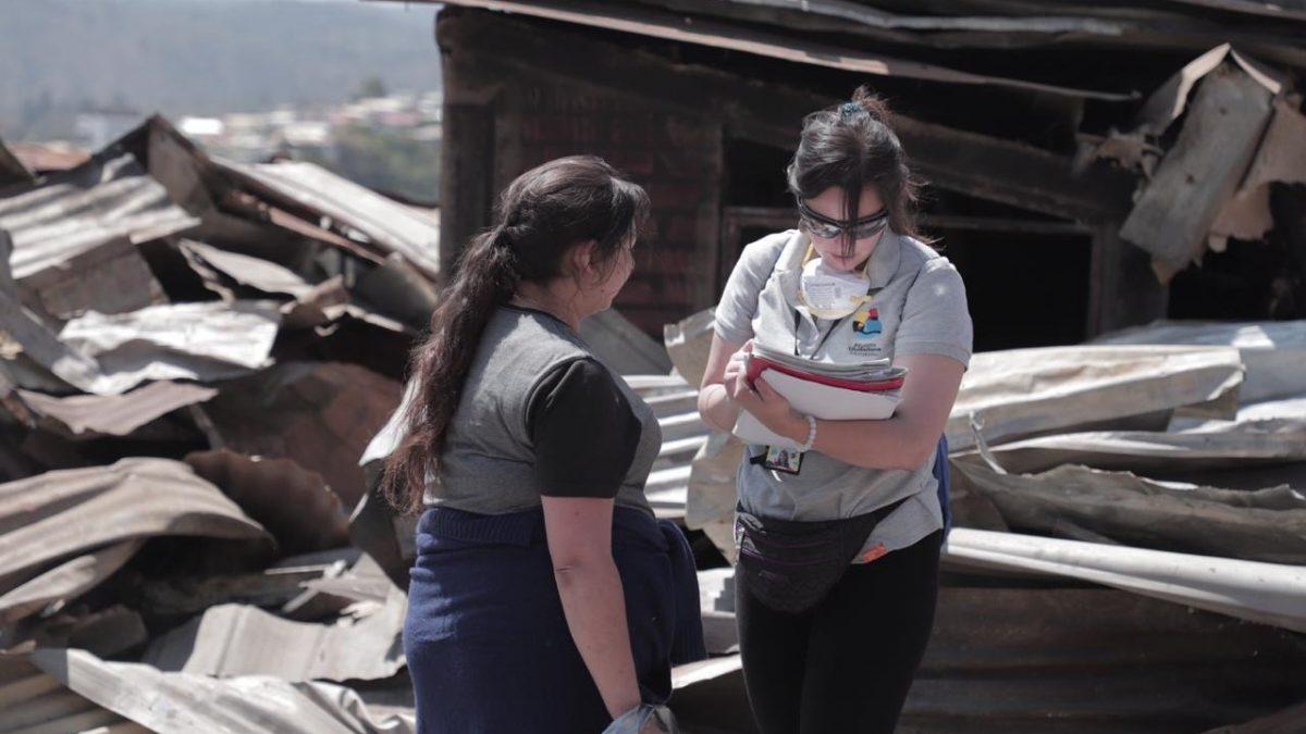Municipalidad de Valparaíso genera dispositivo social para familias damnificadas por incendio