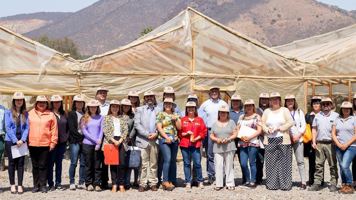 """Lanzan campaña """"Trabajo Seguro"""" en el valle de Aconcagua"""