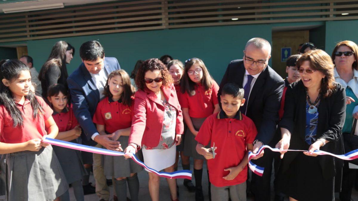 En Quilpué: Con inauguración de obras en Colegio Darío Salas se dio inicio al Año Escolar 2020