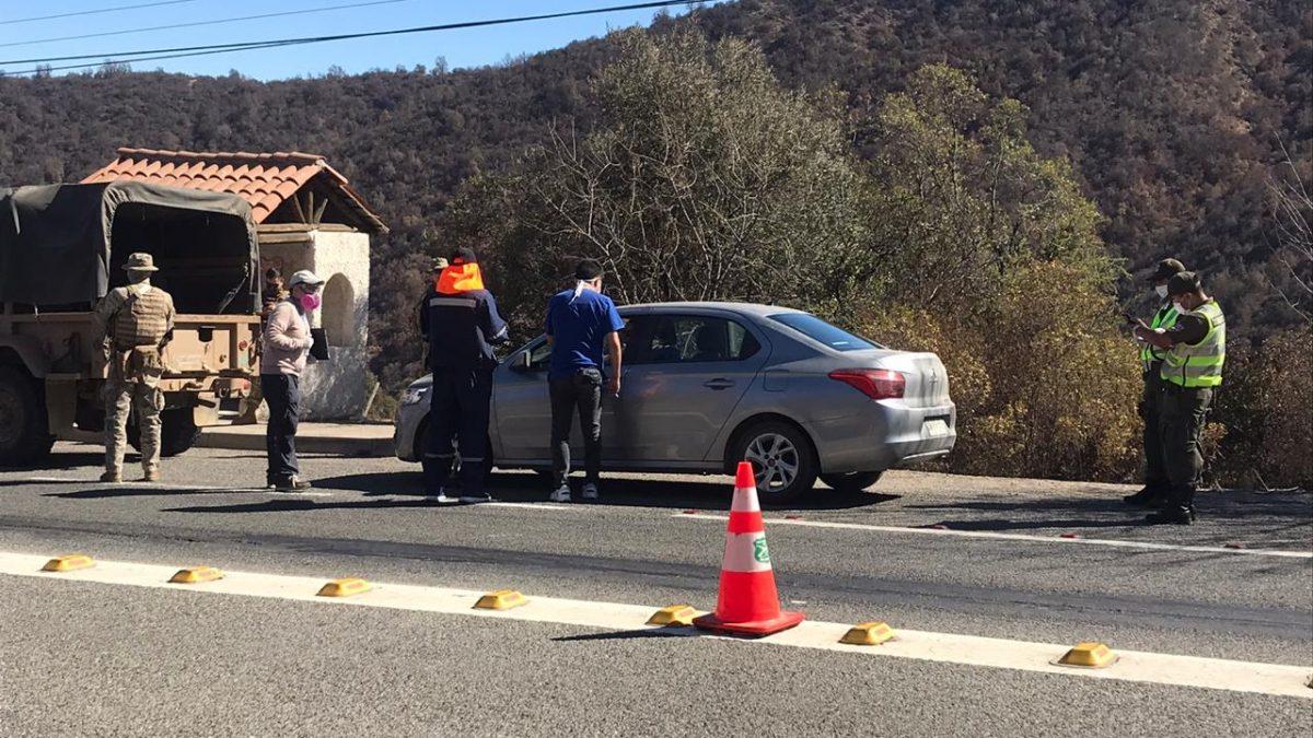 Más de 250 vehículos han sido fiscalizados en punto de control sanitario cuesta La Dormida