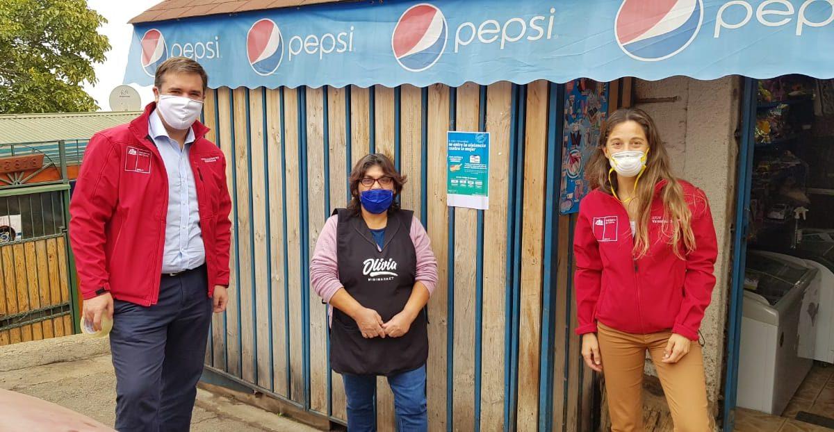 """Difunden campaña """"En esta comunidad no entra la violencia"""" en barrios de la Provincia de Valparaíso"""
