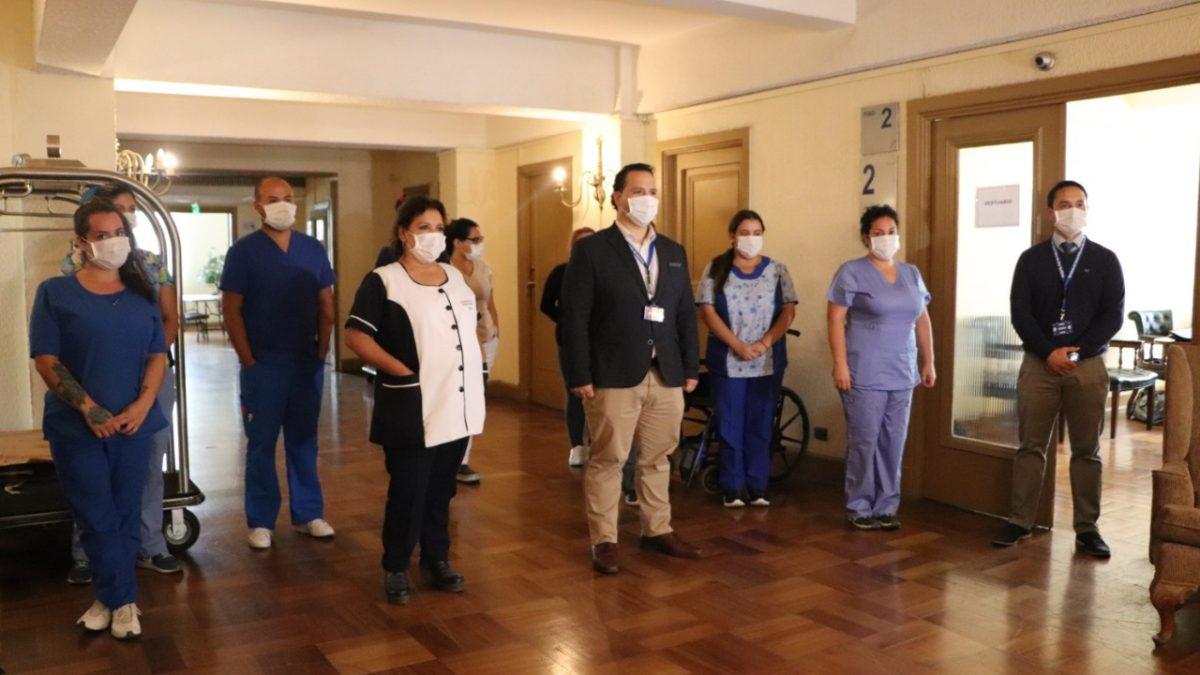 """Comenzó a funcionar residencia sanitaria en Hotel O"""" Higgins de Viña del Mar con una capacidad inicial de 92 camas"""