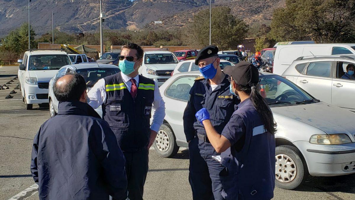 Más de 200 vehículos han sido devueltos a su 1° vivienda desde la implementación de la Aduana Sanitaria en Ruta 68