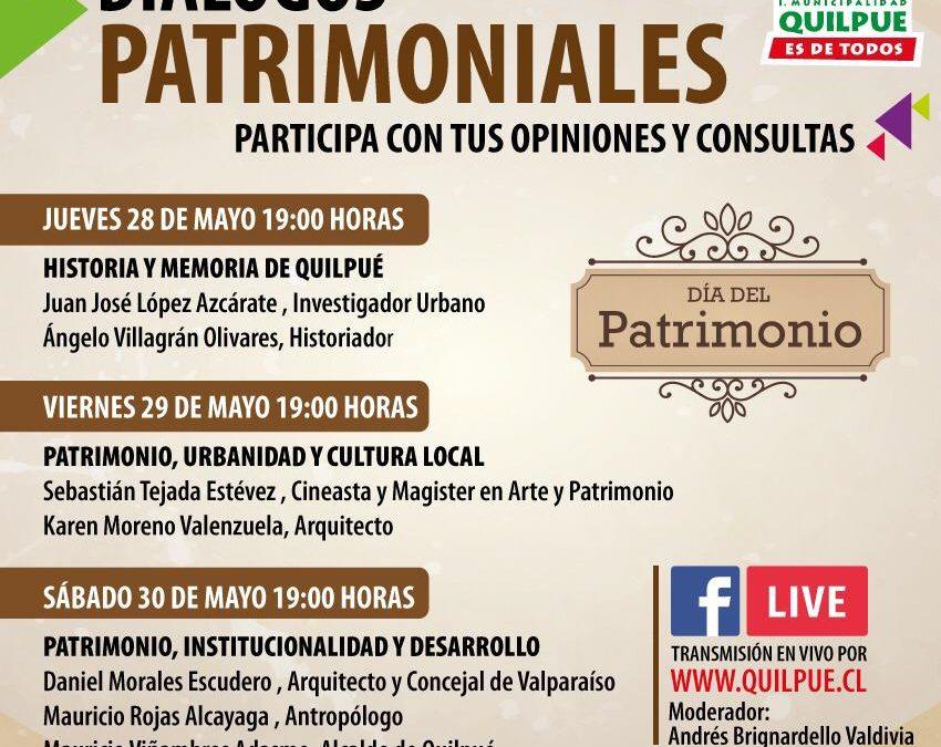 Quilpué celebra el Día Nacional del Patrimonio Cultural por Internet