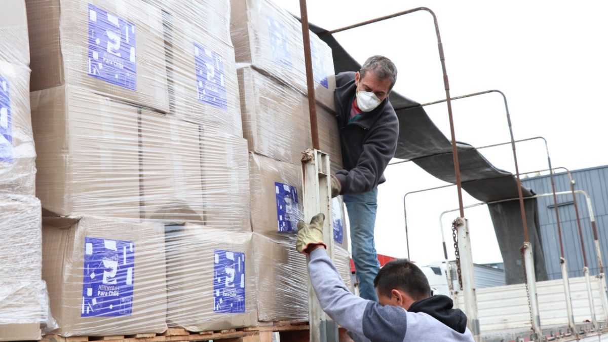 Más de 212 mil cajas Alimentos para Chile han sido entregadas en la región de Valparaíso.