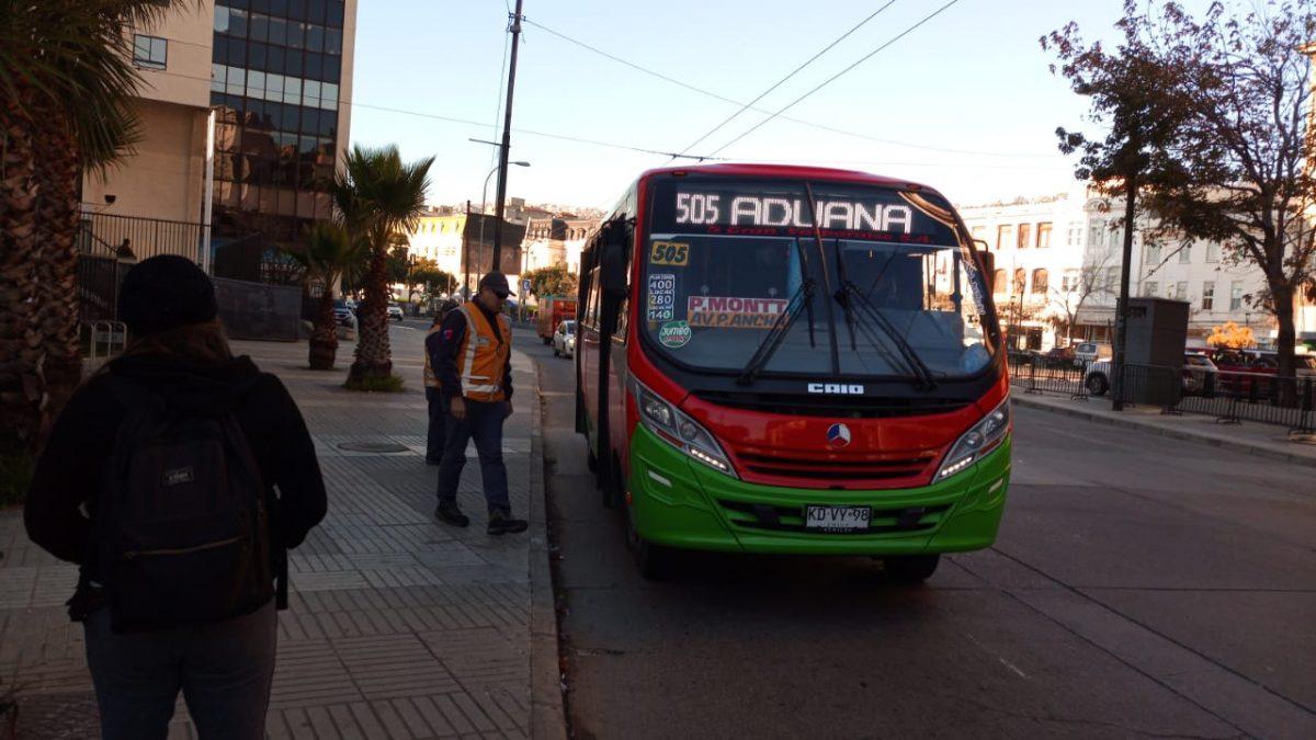MTT Informa que transporte público se mantendrá operativo en Valparaíso y Viña del Mar durante cuarentena