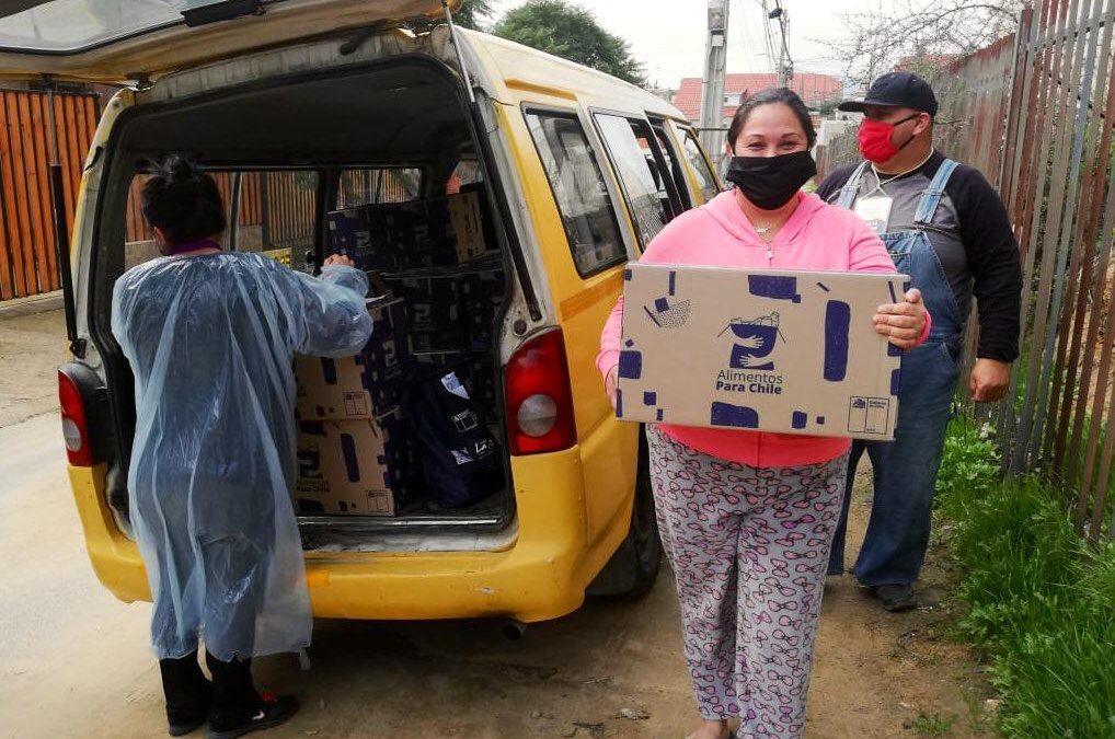 40 mil familias de Marga Marga serán beneficiadas con segunda entrega de Plan Alimentos para Chile.