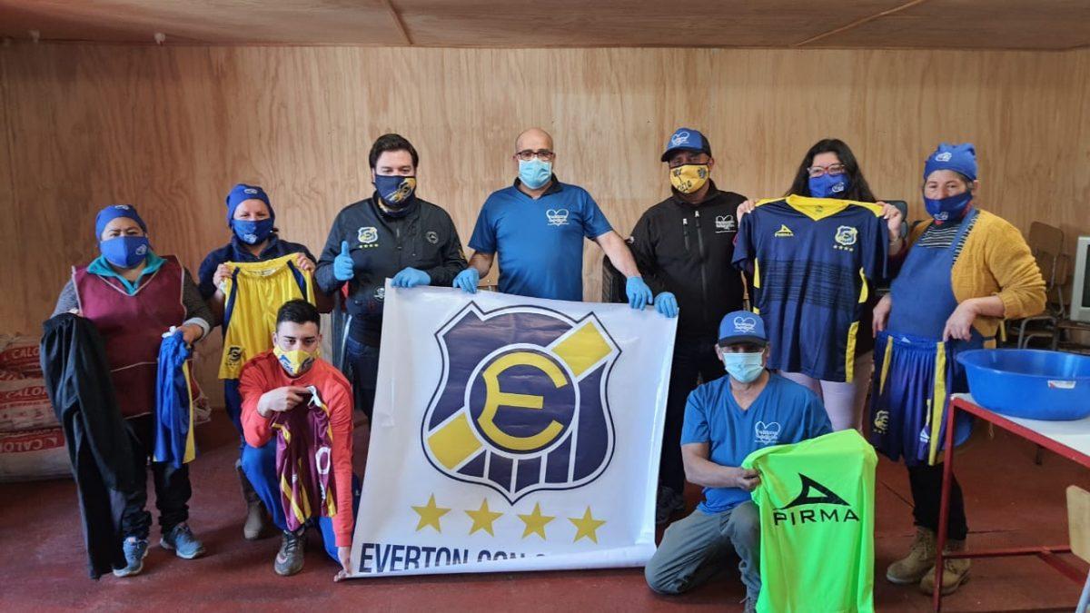 Everton y Twitteros Solidarios culminan campaña de ayuda a  Ollas Comunes de Viña del Mar