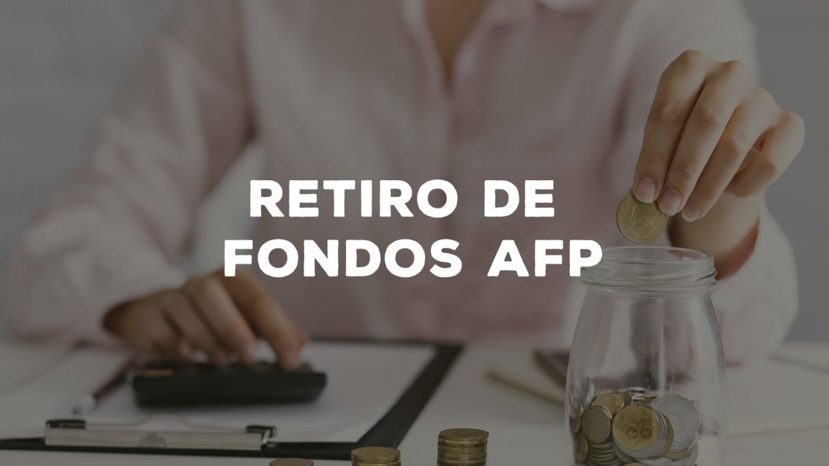 Gobierno confirma que desde el jueves se podrá solicitar el retiro del 10% de las AFP