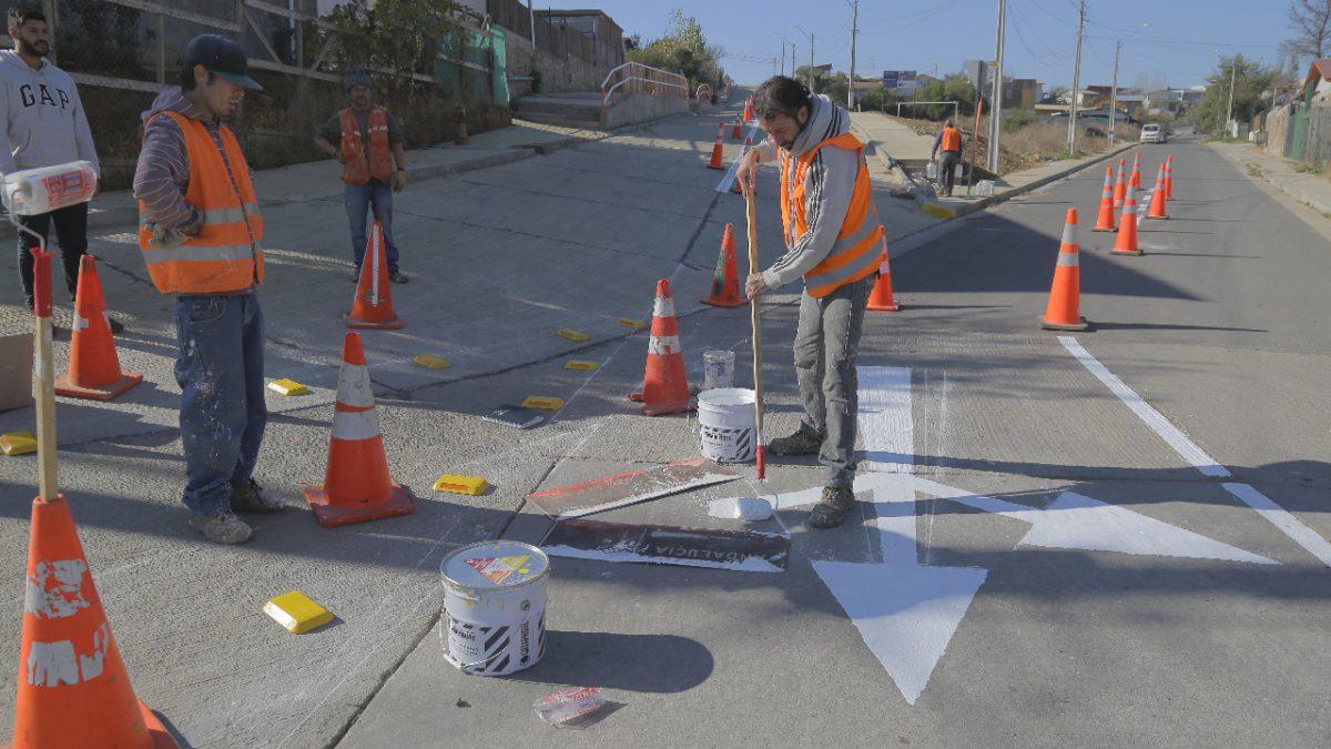 Municipio de Quilpué reforzará pintado de señalética vial