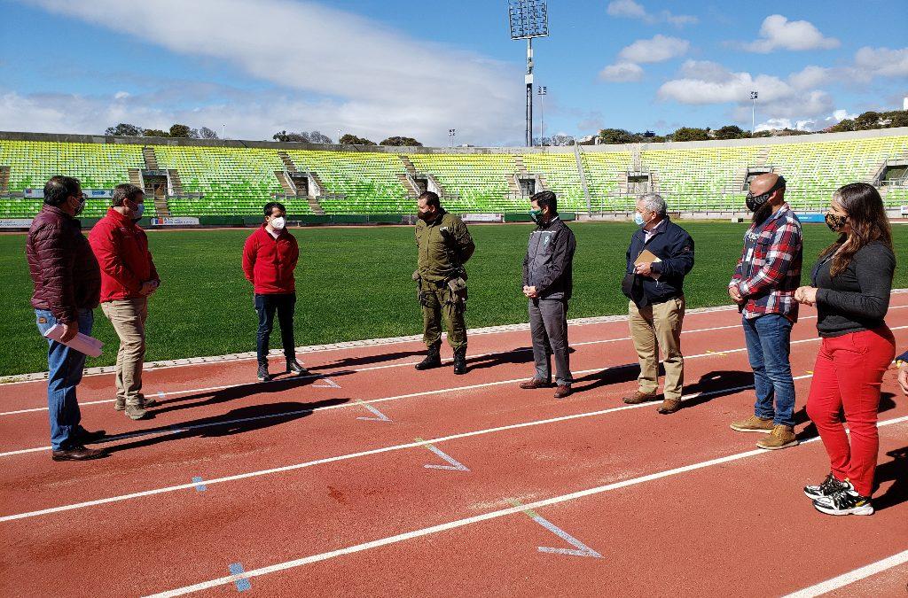 Afinan detalles en estadios Elías Figueroa y Sausalito para el regreso del fútbol en la Provincia de Valparaíso