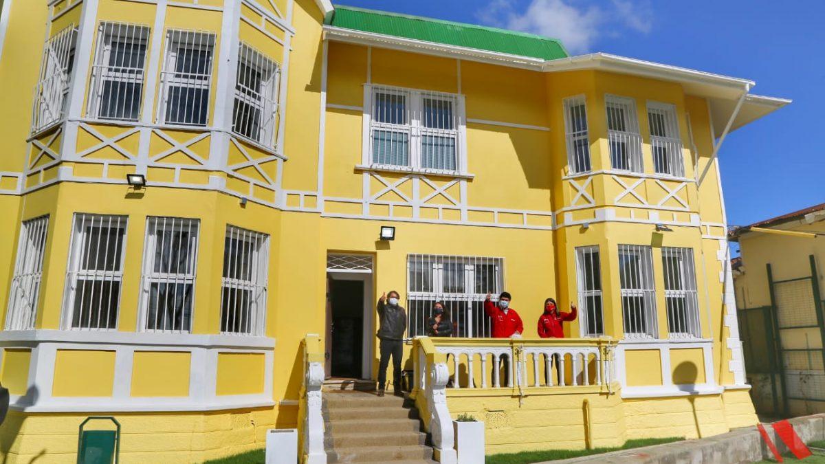 Autoridades visitan residencia siniestrada del Sename que está lista para volver a funcionar