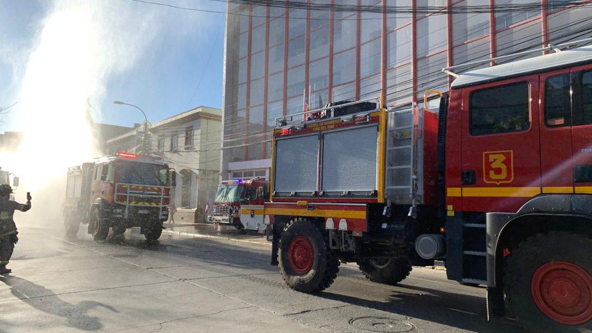 Temporada incendios forestales: Cuerpo de Bomberos de Viña del Mar pondrá en servicio tres nuevos carros de la especialidad