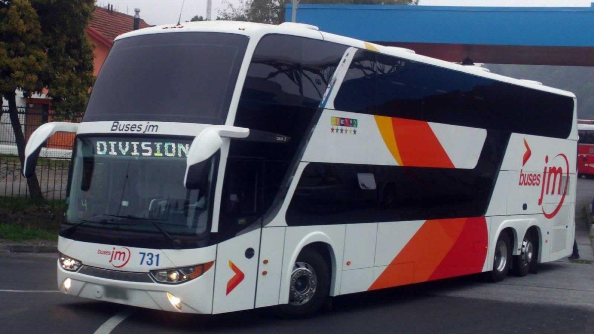 Buses JM retoma sus servicios interurbanos entre Aconcagua y Valparaíso
