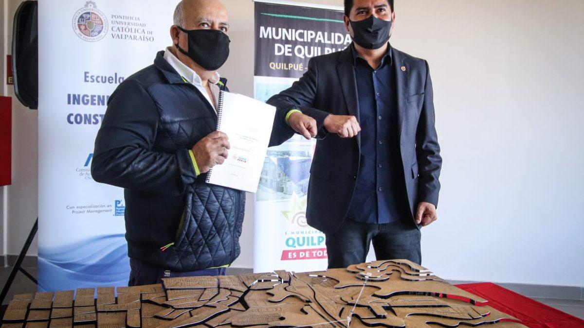 Avanza proyecto de primer teleférico en Quilpué desarrollado por la Municipalidad y la PUCV