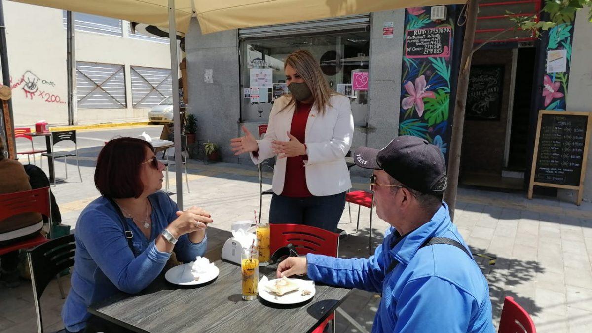 Sector gastronómico de Quilpué revive tras apertura de terrazas