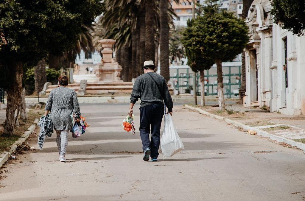 Cementerio N°3 de Playa Ancha reabrió sus puertas a porteños y porteñas tomando medidas de seguridad sanitaria