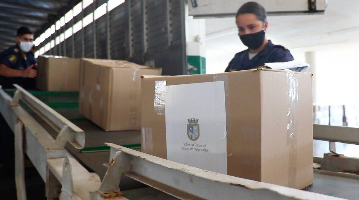 Nuevas cajas Alimentos para Chile se distribuirán en la región de Valparaíso