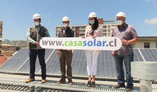 300 vecinos de Quilpué y Villa Alemana contarán con sistemas fotovoltaicos del Programa Casa Solar