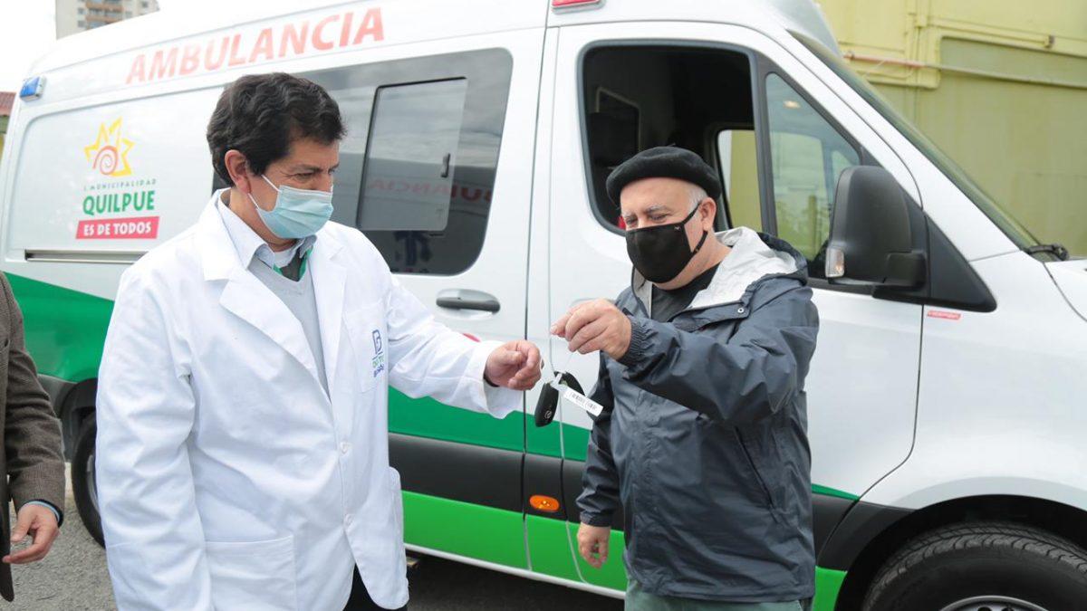 Salud Municipal de Quilpué adquiere dos nuevas ambulancias