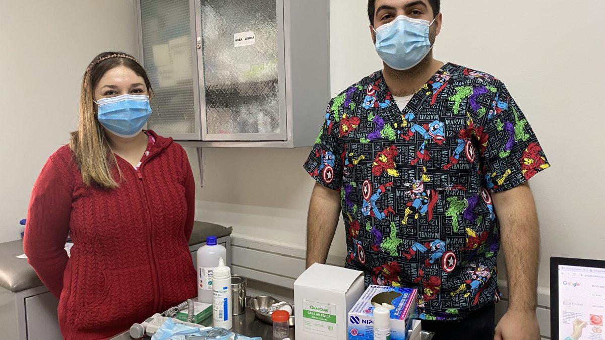 En Cesfam Centenario de la comuna de Los Andes refuerzan llamado a mujeres a realizarse el PAP y mamografías