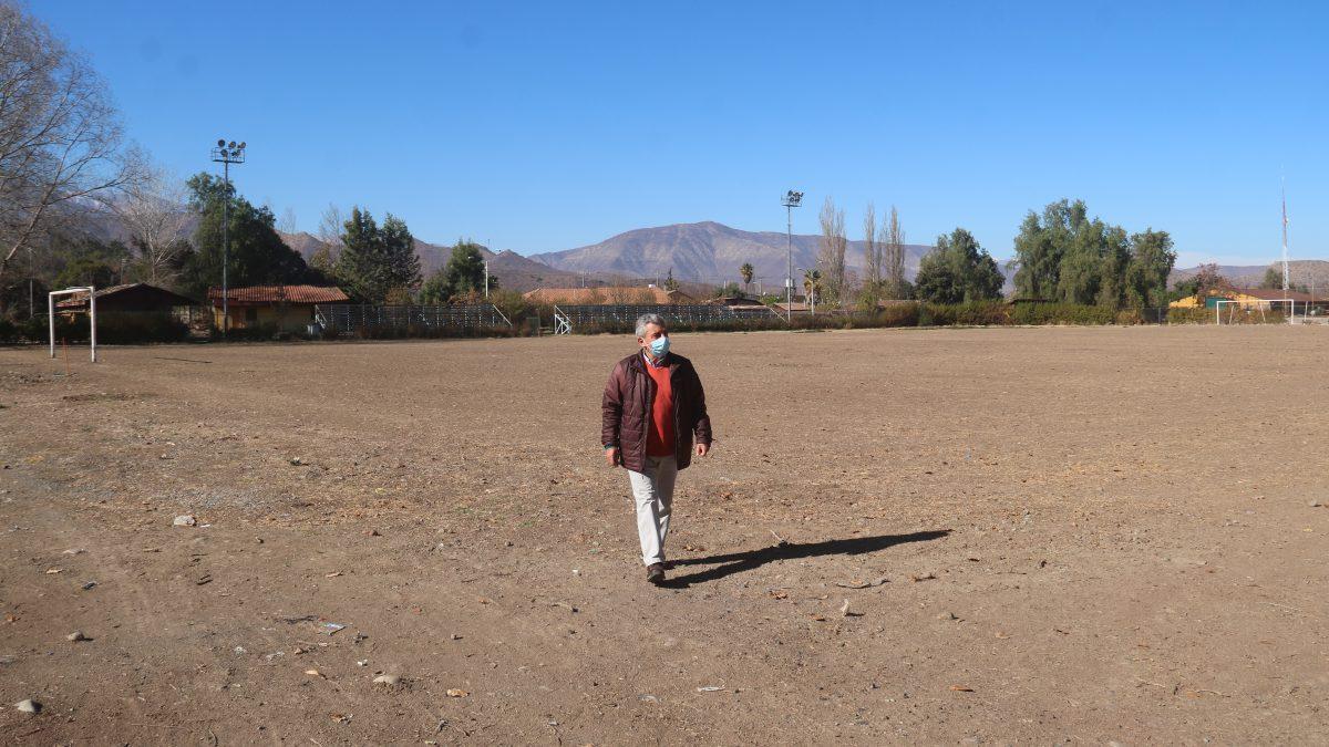 Diseño para el nuevo estadio municipal de Putaendo tendrá una inversión superior a los 90 millones de pesos