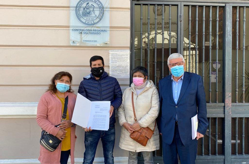 Denuncian ante Contraloría que el Municipio de Viña del Mar no ha otorgado permisos y patentes a importante feria hortofrutícola de Gómez Carreño