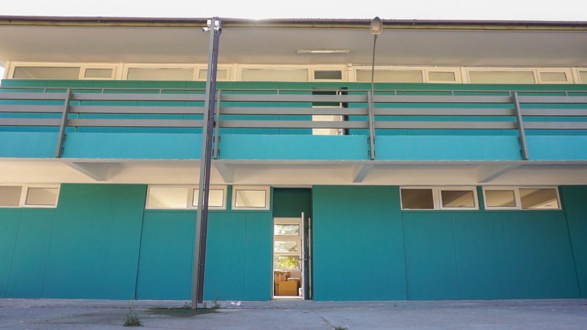 Avanzan obras de mejoramiento en colegios municipales de Quilpué