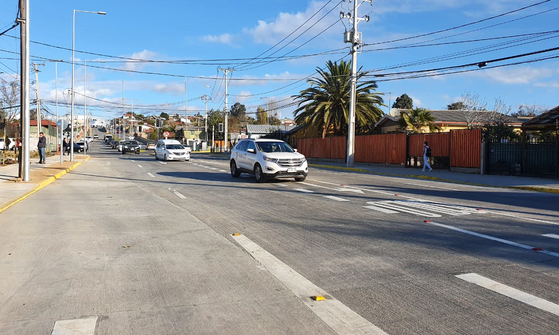 Quilpué:Serviu habilita último trayecto del mejoramiento de Avenida Marga Marga e inicia marcha blanca para el tránsito