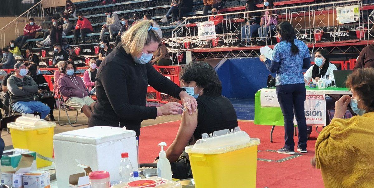 Municipio de san Felipe refuerza llamado a vacunarse contra influenza y rezagados de covid19