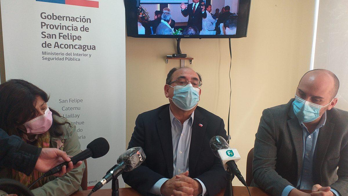 Gobernador de San Felipe anuncia su renuncia al cargo a partir del próximo 14 de julio