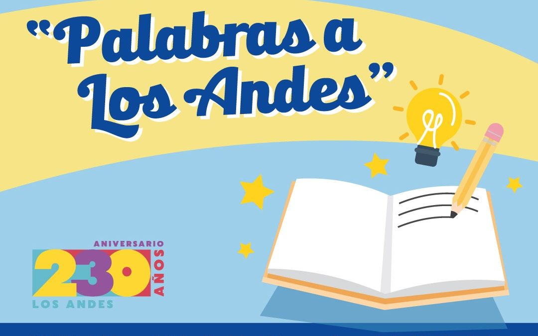 """Biblioteca municipal de Los Andes invita a participar en la 10ª versión del concurso de cuentos breves """"Palabras a Los Andes"""""""