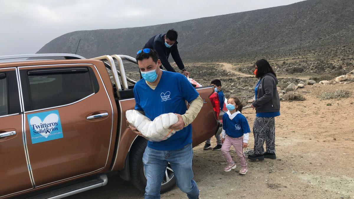 Twitteros Solidarios supera las  500 Ollas Comunes visitadas en tiempos de pandemia