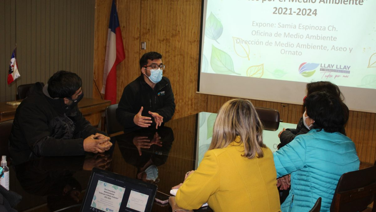 """Municipio de Llay – Llay lanza Plan Comunitario """"Juntos por el Medio Ambiente"""""""