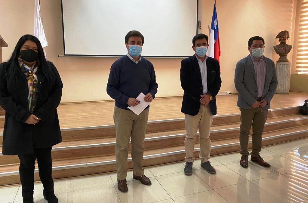 Alcalde de la comuna de Los Andes informa sobre cambios en equipo directivo para este nuevo período