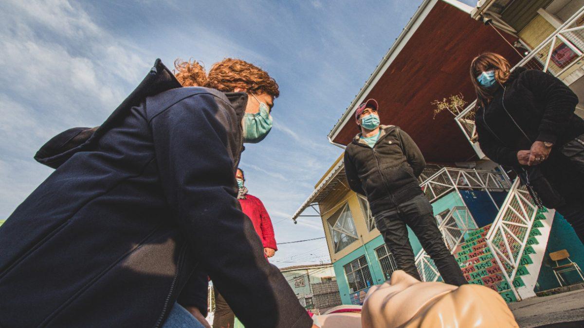 Escuela España de Valparaíso se transformó en la 1era cardioprotegida del sistema escolar público